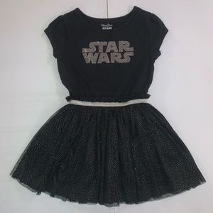 Black and silver Star Wars dress